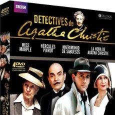 Cine: PACK DETECTIVES DE AGATHA CHRISTIE. Lote 128309194