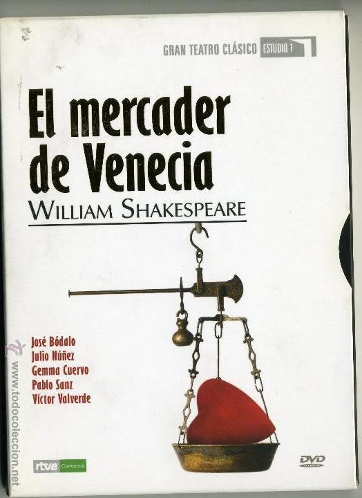 EL MERCADER DE VENECIA COLECCION GRAN TEATRO CLASICO ESTUDIO 1 (Series TV en DVD)