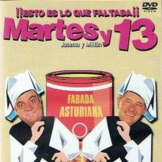 Series de TV: DVD MARTES Y 13 ENFABADOS. Lote 49228501