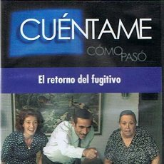Series de TV: DVD CUÉNTAME CÓMO PASÓ EL RETORNO DEL FUGITIVO . Lote 49228649