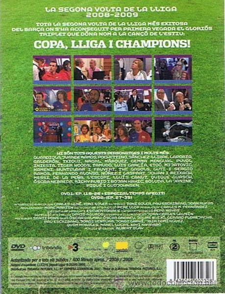 Series de TV: DVD LA SEGONA VOLTA DE LA LLIGA 2008 - 2009 CRAKÓVIA - Foto 2 - 49308436