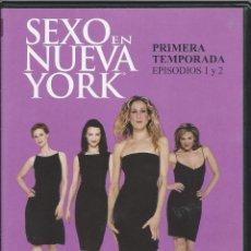 Series de TV: SEXO EN NUEVA YORK TEMP.1. EPIS. 1 Y 2.- SEGUNDA MANO DVD BIEN. Lote 49354533