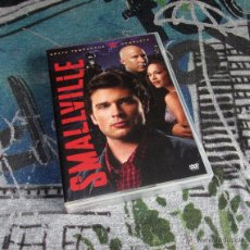 Cine: SMALLVILLE - SEXTA TEMPORADA COMPLETA - 22 EPISODIOS EN 6 DISCOS + EXTRAS - DVD. Lote 49498837