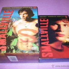 Series de TV: SERIE DVD SMALLVILLE - TEMPORADAS 1 Y 2 - SUPERMAN. Lote 49626165