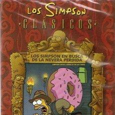 Series de TV: DVD LOS SIMPSON EN BUSCA DE LA NEVERA PERDIDA (PRECINTADO). Lote 49727548
