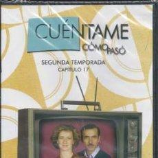 Series de TV: CUÉNTAME CÓMO PASÓ SEGUNDA TEMPORADA, DVD NÚMERO 111 - CAPITULO 17. Lote 49895869