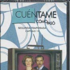Series de TV: CUÉNTAME CÓMO PASÓ SEGUNDA TEMPORADA, DVD NÚMERO 113 - CAPITULO 19. Lote 49895957
