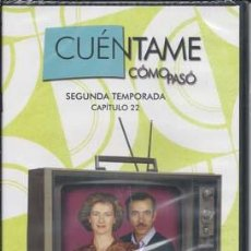 Series de TV: CUÉNTAME CÓMO PASÓ SEGUNDA TEMPORADA, DVD NÚMERO 116 - CAPITULO 22. Lote 49898219