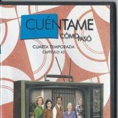 Series de TV: CUÉNTAME CÓMO PASÓ CUARTA TEMPORADA, CAPITULO 42. Lote 49899618