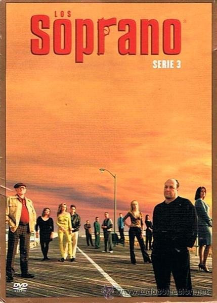 DVD LOS SOPRANO SERIE 3 (4 DVD) (Series TV en DVD)