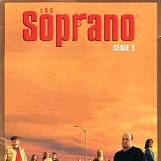 Series de TV: DVD LOS SOPRANO SERIE 3 (4 DVD). Lote 49982044