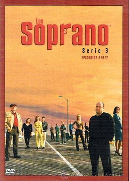 Series de TV: DVD LOS SOPRANO SERIE 3 (4 DVD) - Foto 2 - 49982044