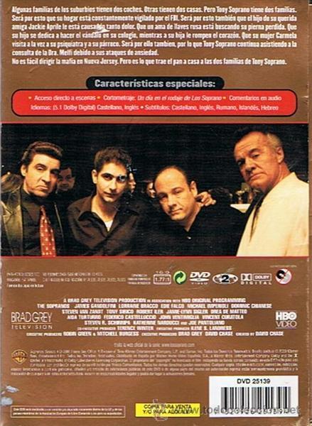 Series de TV: DVD LOS SOPRANO SERIE 3 (4 DVD) - Foto 4 - 49982044