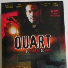 Series de TV: QUART EL HOMBRE DE ROMA 6 DVD SERIE COMPLETA - ARTURO PÉREZ-REVERTE -R ENRÍQUEZ ANA ÁLVAREZ MISTERIO. Lote 49994471