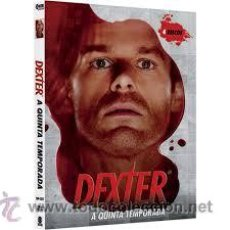 Series de TV: DEXTER QUINTA TEMPORADA 4 DVDS. Lote 50047080