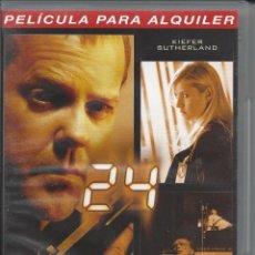 Series de TV: 24. QUINTA TEMPORADA. VOLUMEN 6. EPISODIOS 11-12. VERSIÓN ALQUILER. ESTADO BUENO. Lote 50162859