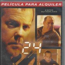 Series de TV: 24. QUINTA TEMPORADA. VOLUMEN 5. EPISODIOS 9-10. VERSIÓN ALQUILER. ESTADOBUENO. Lote 50162881