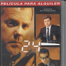 Series de TV: 24. QUINTA TEMPORADA. VOLUMEN 3. EPISODIOS 5-6. VERSIÓN ALQUILER. ESTADO BUENO. Lote 50162906