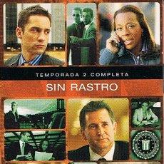 Series de TV: PACK SIN RASTRO SERIE 2 TEMPORADA COMPLETA (4 DISCOS). Lote 50232156