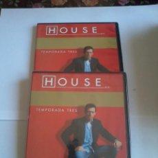 Series de TV: DVD. HOUSE. TEMPORADA TRES. DISCO 1 Y 2. B35DVD. Lote 50406964
