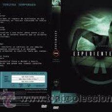 Series de TV: EXPEDIENTE X TERCERA TEMPORADA 6 DVD. Lote 50554206