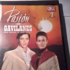 Series de TV: DVD. PASIÓN DE GAVILANES. Nº - 7- 8. B35DVD. Lote 50605094