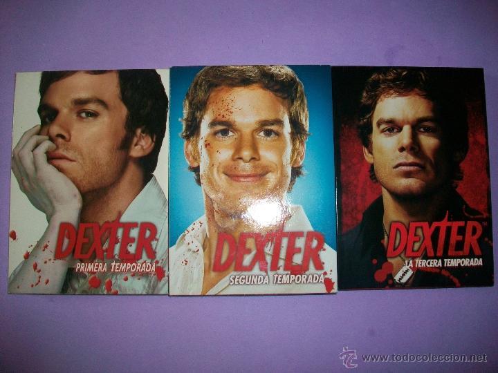 serie dvd dexter - temporada 1 + 2 + 3 - Comprar Series de TV en DVD ...