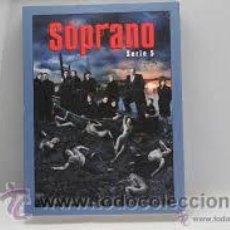 Series de TV: LOS SOPRANO SERIE 5 HBO 4 DVD. Lote 50953964
