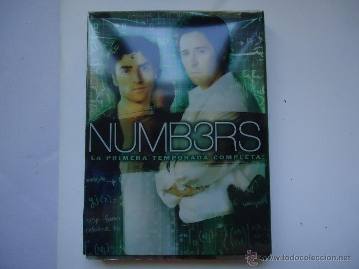 PELÍCULA DVD. NUMB3RS LA PRIMERA TEMPORADA COMPLETA 13 EPISODIOS EN 4 DISCOS. VER MÁS . (Series TV en DVD)