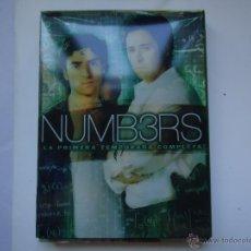 Series de TV: PELÍCULA DVD. NUMB3RS LA PRIMERA TEMPORADA COMPLETA 13 EPISODIOS EN 4 DISCOS. VER MÁS .. Lote 79748434