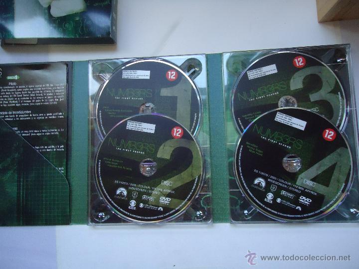 Series de TV: PELÍCULA DVD. NUMB3RS LA PRIMERA TEMPORADA COMPLETA 13 EPISODIOS EN 4 DISCOS. VER MÁS . - Foto 2 - 79748434