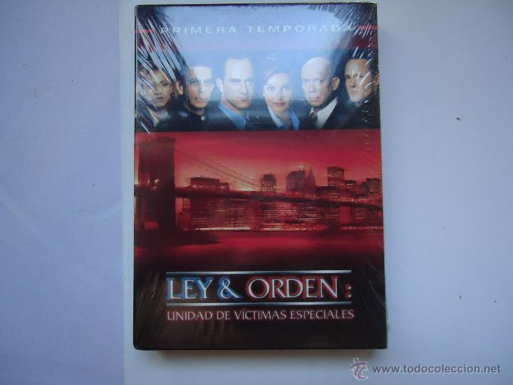 PELÍCULA DVD. SERIE LEY Y ORDEN, PRIMERA TEMPORADA COMPLETA, 6 DISCOS 22 EPISODIOS.. VER MÁS. (Series TV en DVD)
