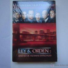 Series de TV: PELÍCULA DVD. SERIE LEY Y ORDEN, PRIMERA TEMPORADA COMPLETA, 6 DISCOS 22 EPISODIOS.. VER MÁS.. Lote 51235034
