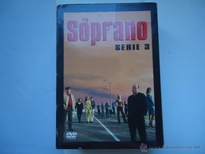 PELÍCULA DVD. SERIE LOS SOPRANO, SERIE 3,- 4 DISCOS. 13 EPISODIOS. VER MÁS. (Series TV en DVD)