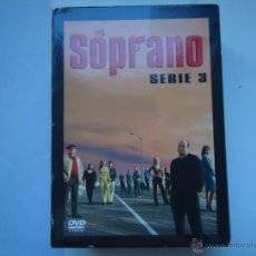 Cine: PELÍCULA DVD. SERIE LOS SOPRANO, SERIE 3,- 4 DISCOS. 13 EPISODIOS. VER MÁS.. Lote 51235254