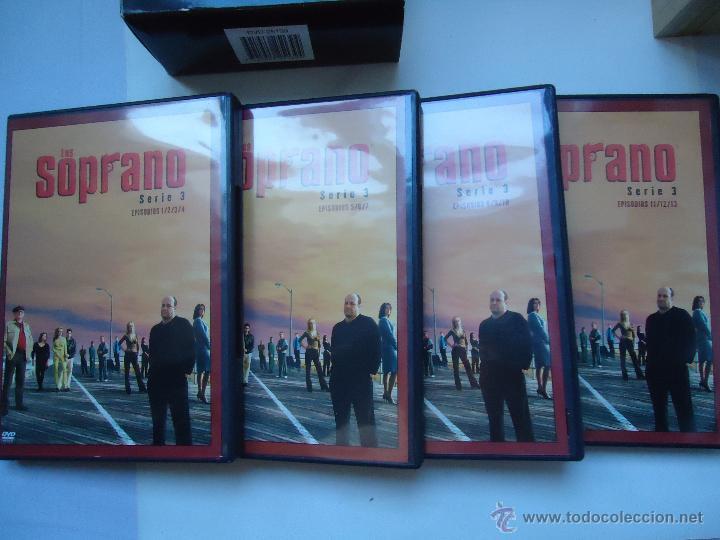 Series de TV: PELÍCULA DVD. SERIE LOS SOPRANO, SERIE 3,- 4 DISCOS. 13 EPISODIOS. VER MÁS. - Foto 2 - 51235254