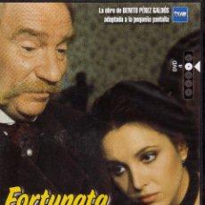 Cine: FORTUNATA Y JACINTA TVE CAPITULOS 7 Y 8 DIRIGIDA POR MARIO CAMUS. Lote 51470454
