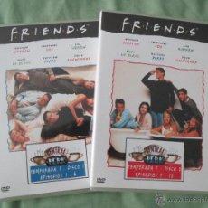 Series de TV: DVD COLECCIONABLE FRIENDS DE DOBLE CARA NUMEROS 1 Y 2. Lote 51573297