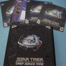 Series de TV: DVD. ESPACIO PROFUNDO. TEMPORADA 1. DESCATALOGADO. STAR TREK. MATERIAL EXCLUSIVO.. Lote 51631498