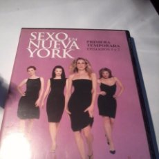 Series de TV: SEXO EN NUEVA YORK. 1ª TEMPORADA EPISODIA 1 Y 2. B35DVD. Lote 51632647