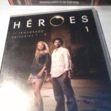 Series de TV: DVD. HÉROES 1. 1ª TEMPORADA EPISODIOS 1 - 2. NUEVA PRECINTADA. B34DVD. Lote 51637142