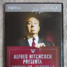 Séries TV: ALFRED HITCHCOCK PRESENTA. TEMPORADA UNO. EPISODIOS 1 - 4. DVD.. Lote 51724532