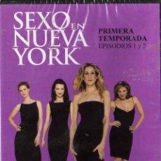 Series de TV: SEXO EN NUEVA YORK . PRIMERA TEMPORADA CAPITULOS 1 Y 2 PRECINTADO. Lote 51842189
