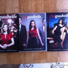 Series de TV: DVD - SERIE TV - THE GOOD WIFE TEMPORADAS 1, 2 Y 3 COMPLETAS. Lote 52324976