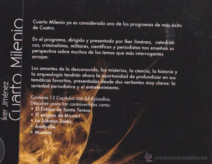 Cuarto milenio ·· dvd·· primera temporara ·· en - Vendido en Venta ...