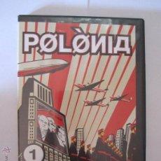 Cine: POLONIA SERIE TV3 DVD Nº1 AL 15 TODOS PRECINTADOS MENOS EL Nº1 AÑO 2007. Lote 52639001