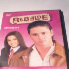 Series de TV: DVD, REBELDE. 3. 1ª TEMPORADA. CAPITULOS 5Y 6. B34DVD. Lote 52810827