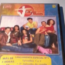 Series de TV: DVD. UN PASO ADELANTE. 1. INCLUYE 2 DVD. MAS DE 4 HORAS DE DURACIÓN. B35DVD. Lote 52869322