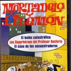 Series de TV: DVD MORTADELO Y FILEMON EL BALON CATASTROFICO Y OTROS CAPITULOS. PRECINTADO. Lote 206929498