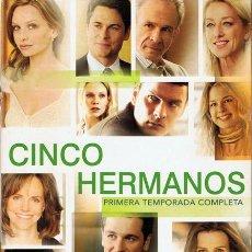 Series de TV: DVD CINCO HERMANOS PRIMERA TEMPORADA COMPLETA. Lote 53030272